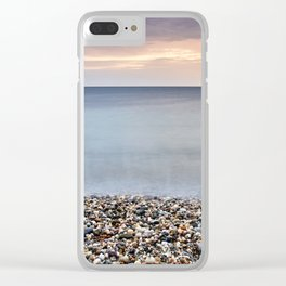 Bright Stones At The Amoladeras Beach Clear iPhone Case