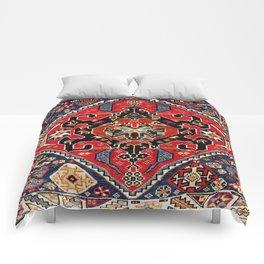 Qashqa'i Antique Fars Persian Bag Face Print Comforters