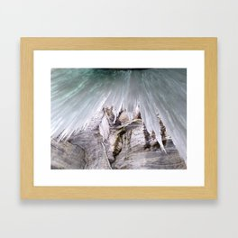 winter thaw Framed Art Print
