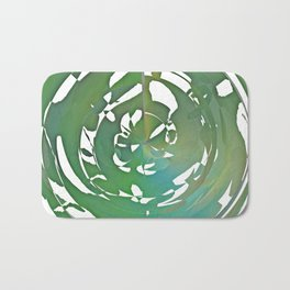 Heart and Throat chakra connection Bath Mat