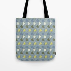 Vintage leaves grey Tote Bag