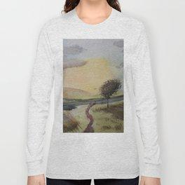 Path to tree Long Sleeve T-shirt