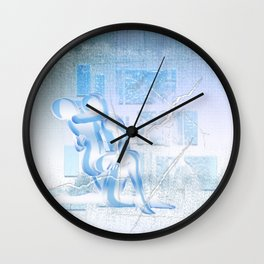 Eispaar Wall Clock