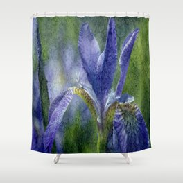 Flowers view Shower Curtain