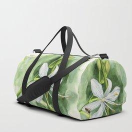 St. Bernard's - lily (Anthericum) Duffle Bag