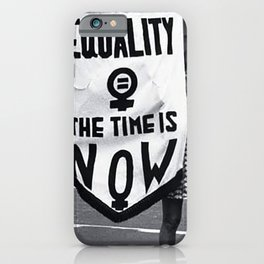 Women's rights matters! - Protest for the ERA, 90s iPhone Case