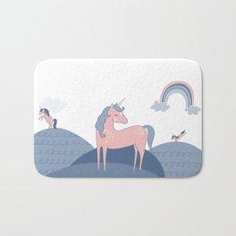 Unicorn hills Bath Mat