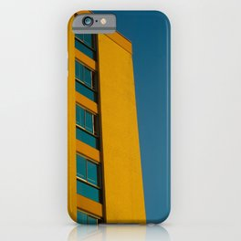 Towering Gold iPhone Case