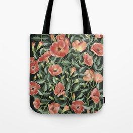 Campsis love Tote Bag