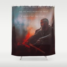 I Am Out Of The Fight Shower Curtain