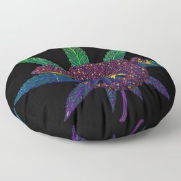 Gecko leaf Floor Pillow