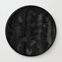 Black Ink Art No 2 Wall Clock
