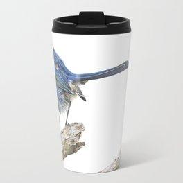 Onward Stare of the Fairy Wren Travel Mug