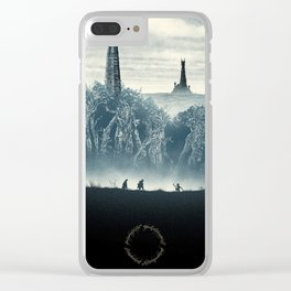 Tolkien Books Clear iPhone Case