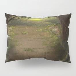 Forest Opening Out To A Meadow Pillow Sham