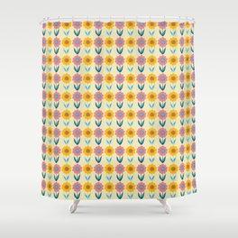 Hello Sunshine Sunflower Shower Curtain
