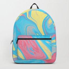 Genderflux Pride Abstract Marbled Colors Backpack