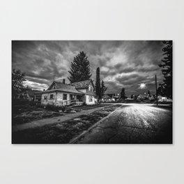 Old house in Spokane Canvas Print