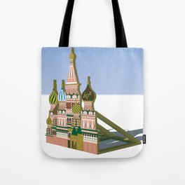 Russia Is A Marginal Power Tote Bag