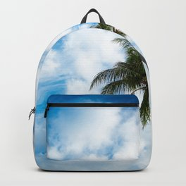 The Sky and a Coconut Tree Backpack