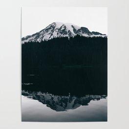 Mount Rainier Reflections Poster