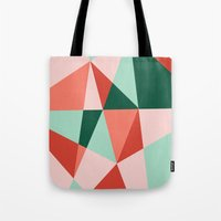 gem Tote Bags featuring Gem by lizzy gray kitchens
