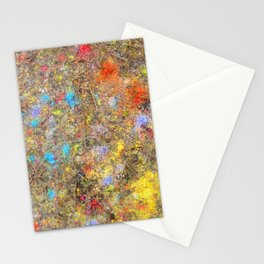 Aftermath of a Color Explosion Stationery Cards
