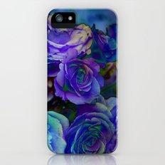 Midnight Rose Slim Case iPhone (5, 5s)