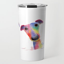' THe WaCKY WHiPPeTS ' WHiPPeT, GReYHouND PRiNTs, ART Travel Mug