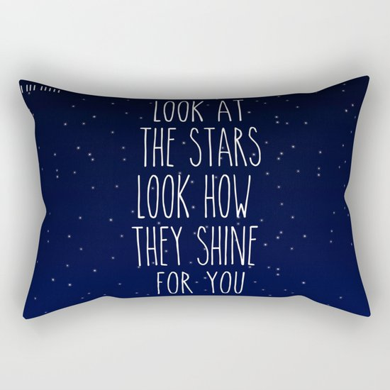 Look How They Shine For You Rectangular Pillow