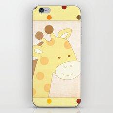 Giraffe Jungle Series Print iPhone & iPod Skin