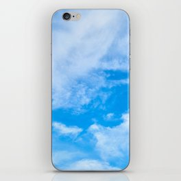 Sky Clouds iPhone Skin