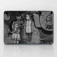 guardians iPad Cases featuring Guardians by Taylor.Mac