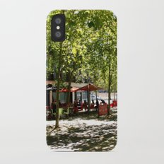 Street Cafes iPhone X Slim Case