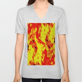 concentrated fire Unisex V-Neck