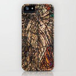 Electrified Cross-Contour iPhone Case