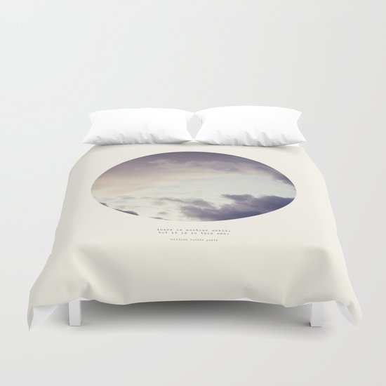 There Is Another World Duvet Cover