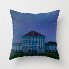 DE - BAVARIA : Nympfenburg palace Munich Throw Pillow