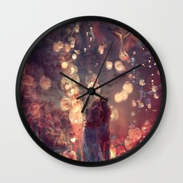 ZKW'16 Candles Wall Clock