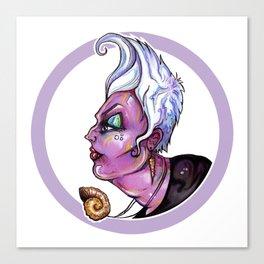 Dark Diva – Ursula Canvas Print