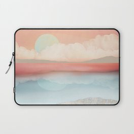 Mint Moon Beach Laptop Sleeve