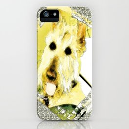 Wheaten Scottish Terrier - During Sickness and Health iPhone Case