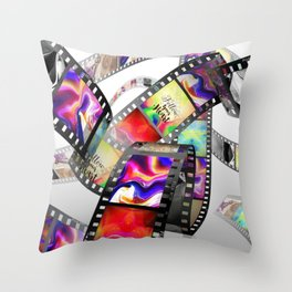 """Follow Your Heart"" Film Design Throw Pillow"