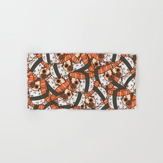 Puglie Salmon Sushi Hand & Bath Towel