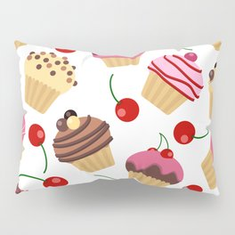 Muffins or Cupcakes? Pillow Sham