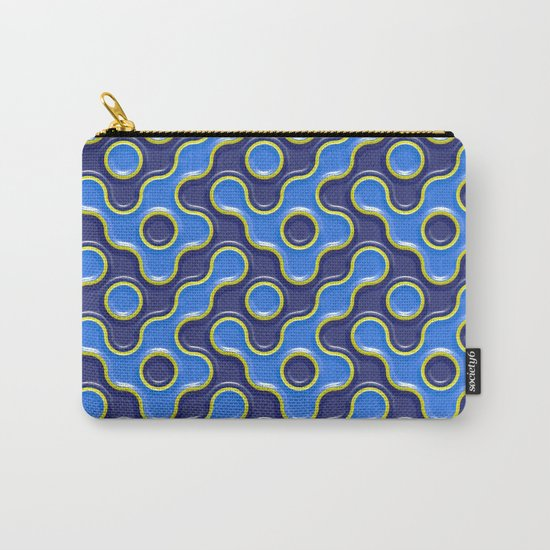 pattern blue 7 Carry-All Pouch