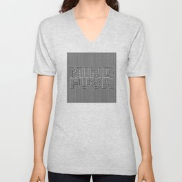 Mind Fuck - Optical Illusion Unisex V-Neck