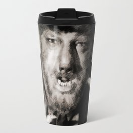 Lon Chaney, Jr. as Wolfman Travel Mug