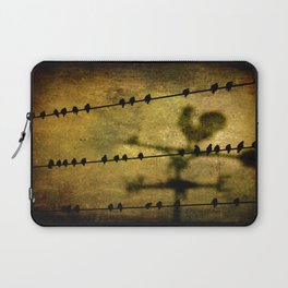 West and East Laptop Sleeve
