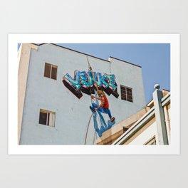 Venice Boardwalk I Art Print